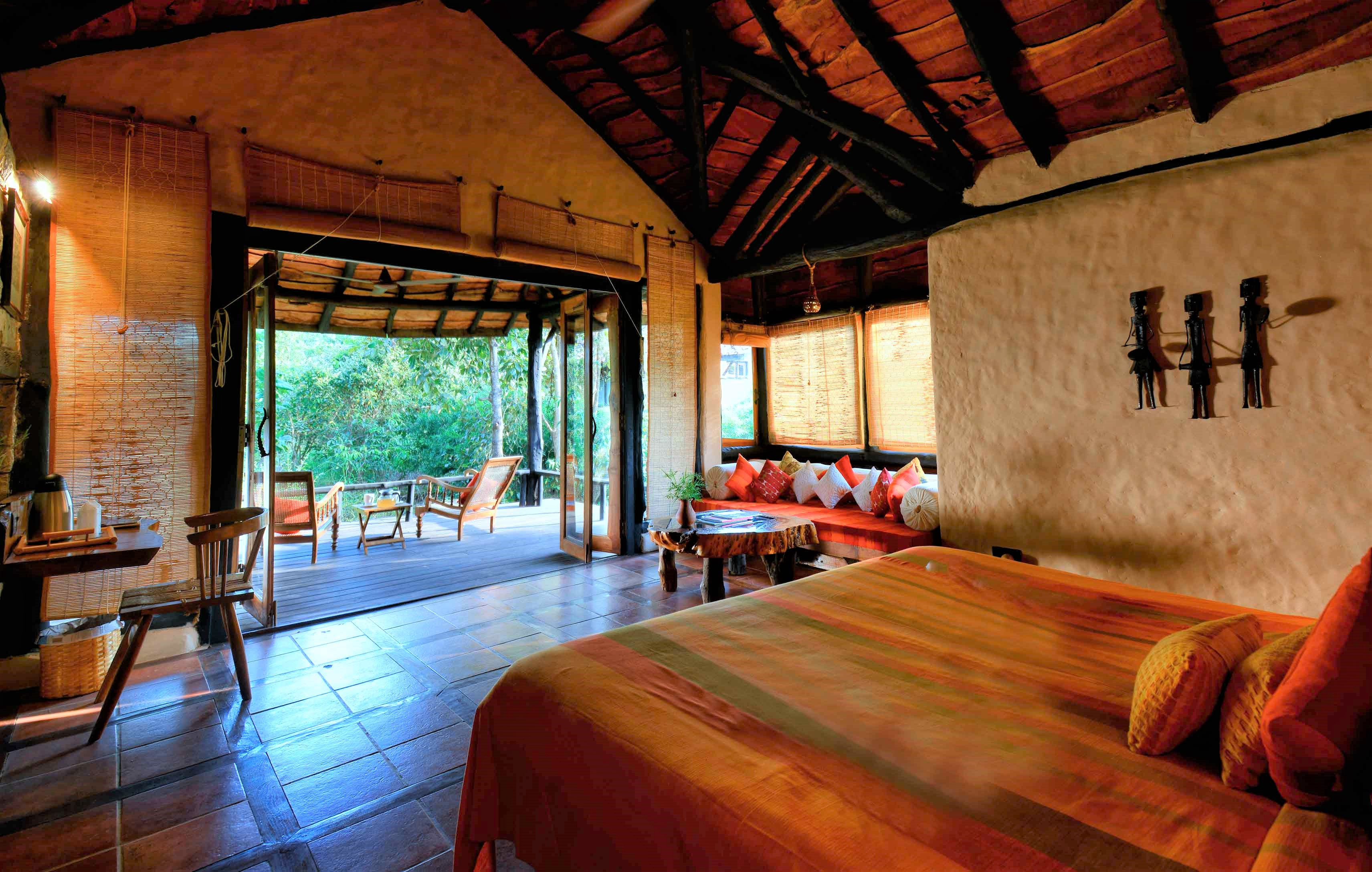 Kanha Earth Lodge, Kanha National Park