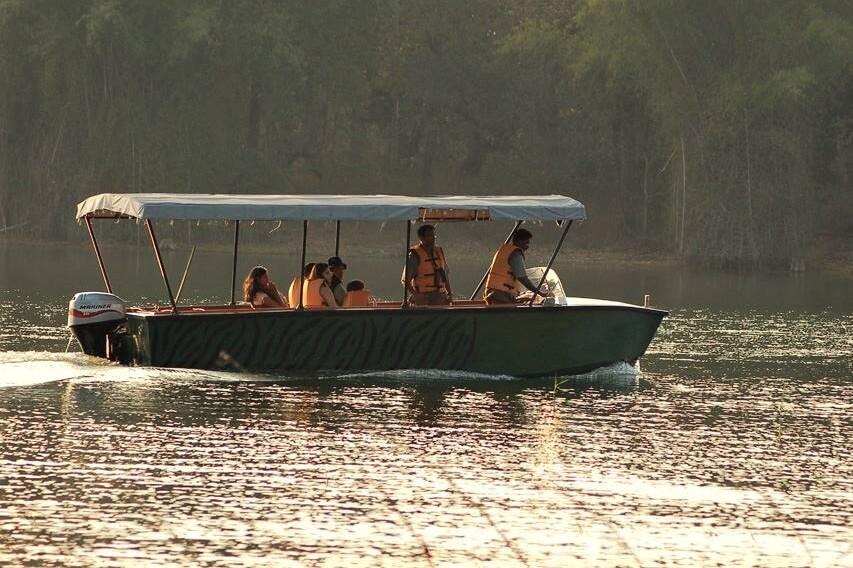 Boat Safari in India