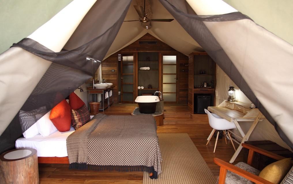 Luxury Tent at Kaav Safari Lodge