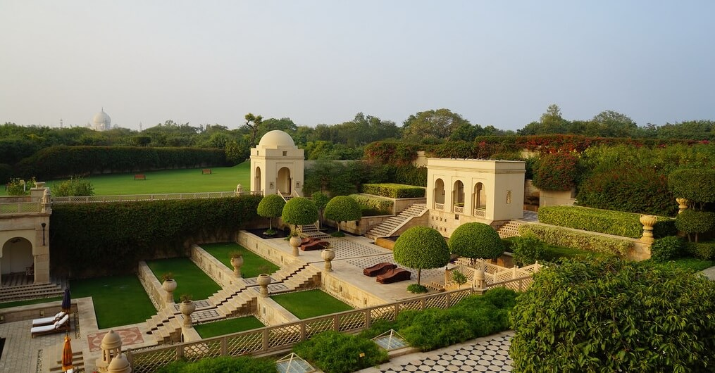 Visit the Oberoi Amarvilas Agra on a Oberoi Hotels Rajasthan Private Luxury tour package